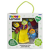 Lamaze Garden Bug Foot Finder and Wrist Rattle