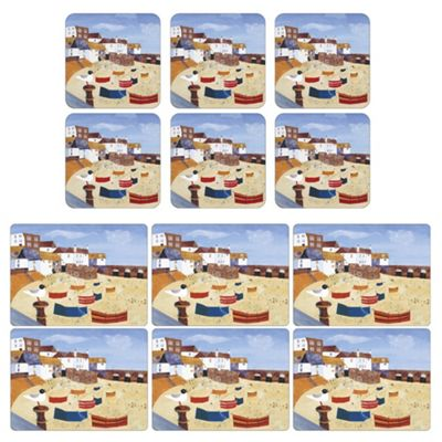 Pimpernel St Ives Windbreak Placemats and Coasters Set of 6