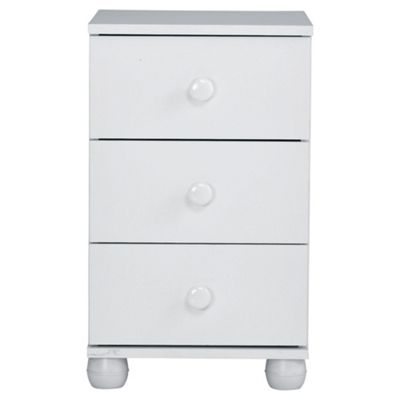 Addison Bedside Chest, White