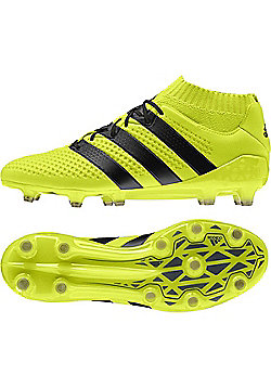 adidas Ace 16.1 Primeknit Firm Ground Adult Football Boots - Yellow - Yellow