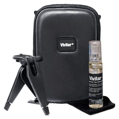 Vivitar Camera Starter Kit (black camera case, with mini tripod)