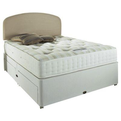 Rest Assured King Size Divan Bed Set, Royal Ortho 1000, 2 Drawer