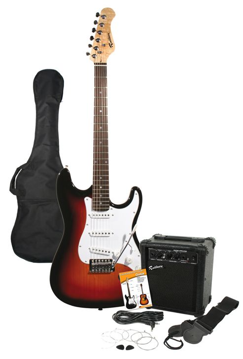 Technote Rockburn Electric Guitar Pack - Sunburst
