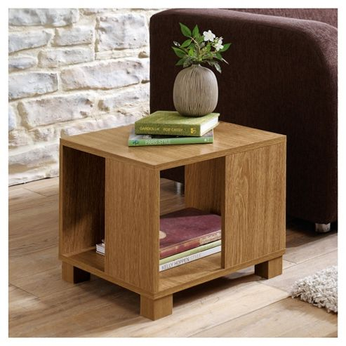 Nico Side Table, Oak-effect