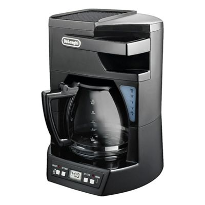 De'Longhi ICM 40B 1.8 12 Cup Coffee Machine - Black