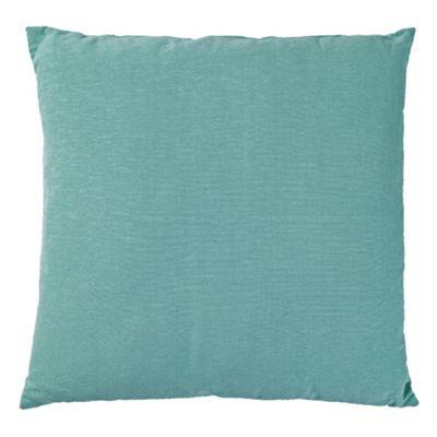 Tesco Large Basic Cushion, Duck Egg