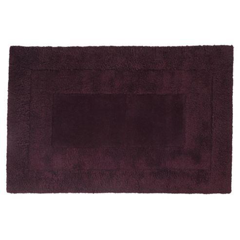 Tesco Rugs Tiered Wool Rug, Plum 120x170cm