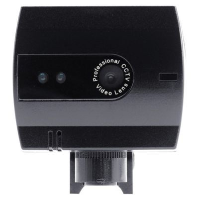 GET Basic Black And White Wired CCTV Camera