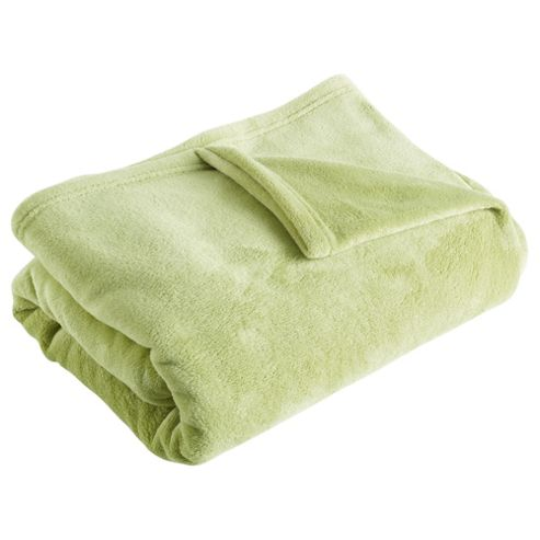 F&F Home Supersoft Throw, Green