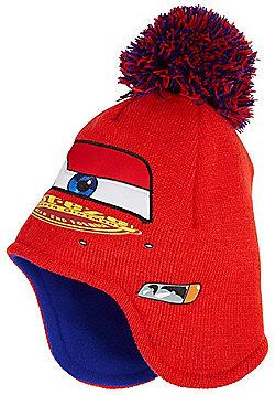Disney Cars Bobble Beanie Hat - Red