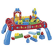 Mega Bloks First Builders Build'n Learn Table