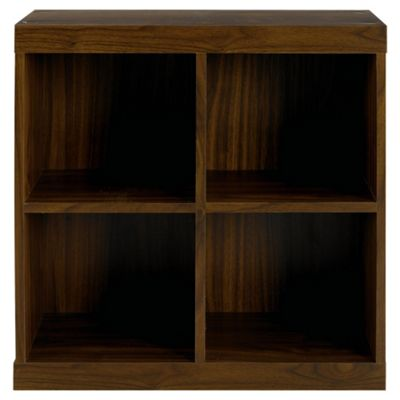 Seattle Open Storage Cube, Walnut-effect