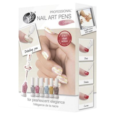 Buy rio pastel nail art from our manicure sets range tesco rio pastel nail art prinsesfo Choice Image