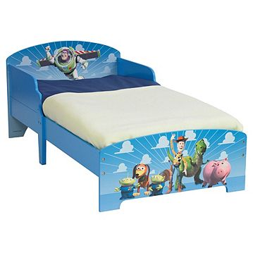 Disney Toy Story Toddler Bed Multi Colour Catalogue Number 207 8801