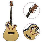 Rocket Shallow Cutaway Electro Acoustic - Natural
