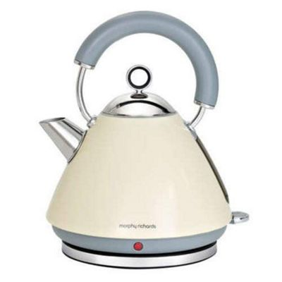 Morphy Richards 43775 Accents Traditional Kettle, 1.5L - Cream