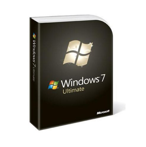 Microsoft Windows 7 Ultimate, Upgrade Edition for XP or Vista users