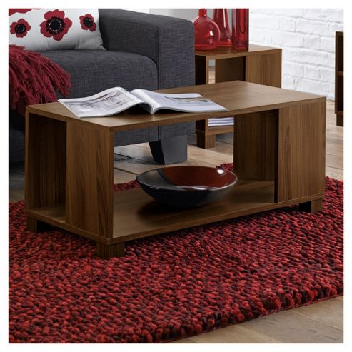 Nico Coffee Table, Walnut-effect