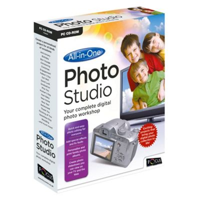 Focus All-In-One Photo Studio Internal Memory