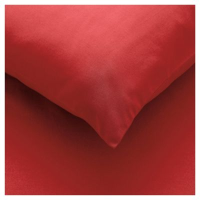 Tesco Fitted Sheet Double, Cherry