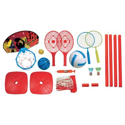 Tesco 4 In 1 Sports Playset