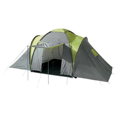 Tesco 6-Man, 3-Bedroom Family Tent