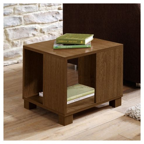 Nico Side Table, Walnut-effect