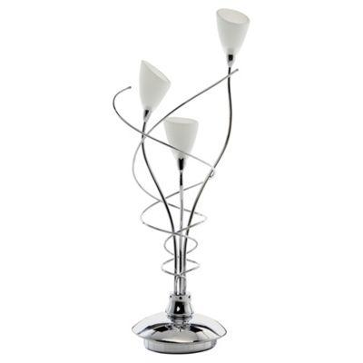 Tesco Lighting Whirly Table Lamp