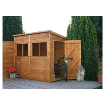 Mercia Pent Wooden Shed, 8x4ft