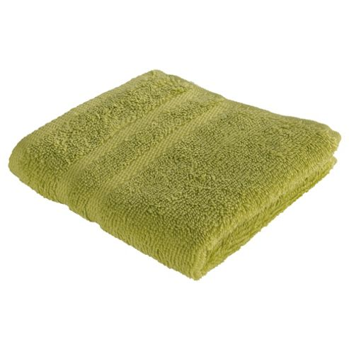 Tesco Face Cloth, Lime