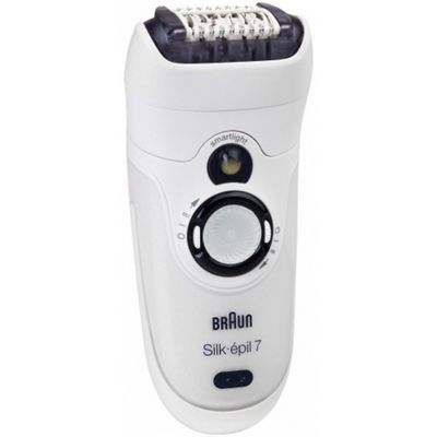 Braun Silk-épil 7 7381 Wet & Dry Cordless Epilator with 2 attachments