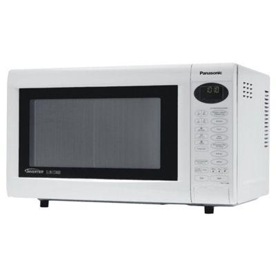 Panasonic 27L Inverter White Microwave NN-CT559WBPQ