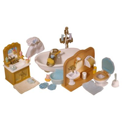 Sylvanian Families Cottage Bathroom Set