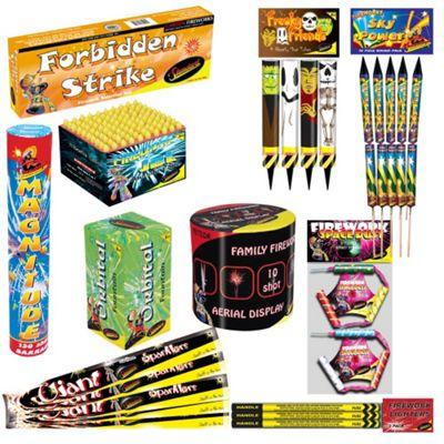 Buy Family Fireworks Kit from our Fireworks range - Tesco