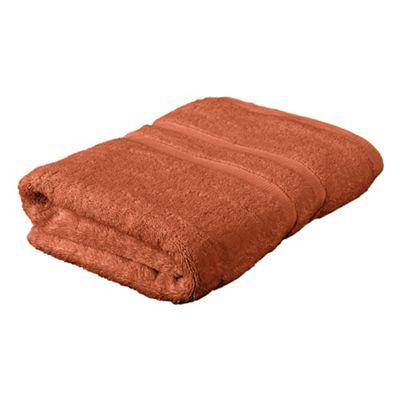 Tesco Bath Towel Burnt Orange