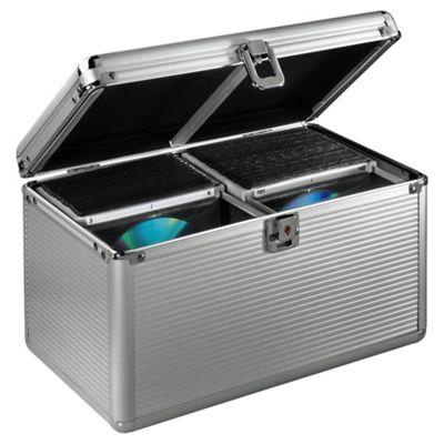 Hama Aluminium Storage Case for 200 CDs / DVDs