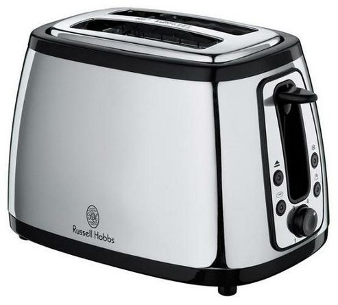 Russell Hobbs 18198 Heritage 2 Slice Toaster - Silver