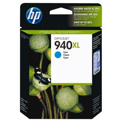 Hewlett-Packard 940XL Printer Ink Cartridge Cyan