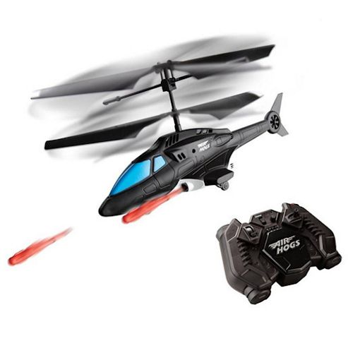 Air Hogs R/C Sharp Shooter Helicopter - Blue