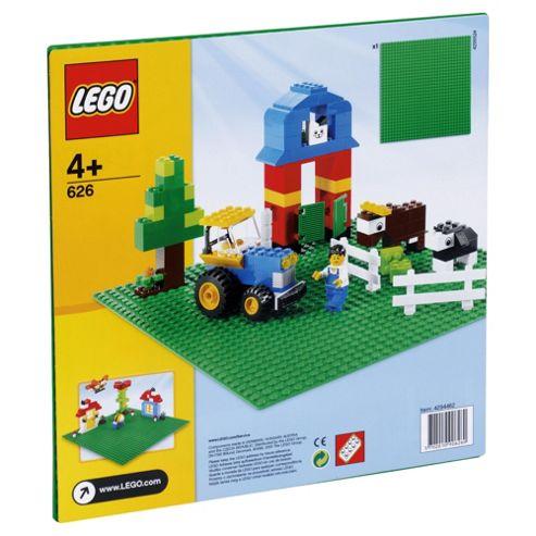 LEGO Bricks & More Baseplate Green 626