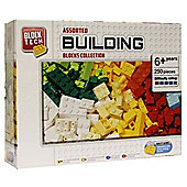 Block Tech Assorted Building Blocks Collection 250 Pieces