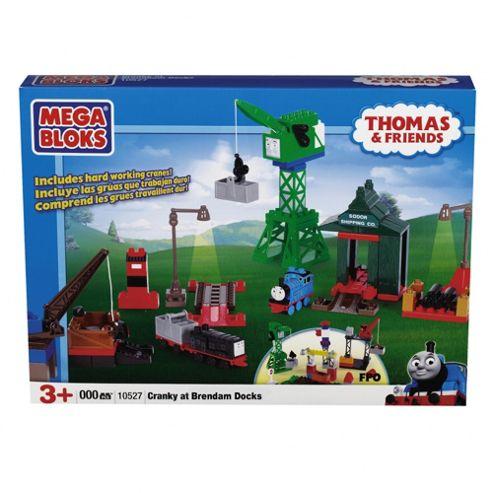 Mega Bloks Thomas & Friends Cranky at Brendam Docks Playset