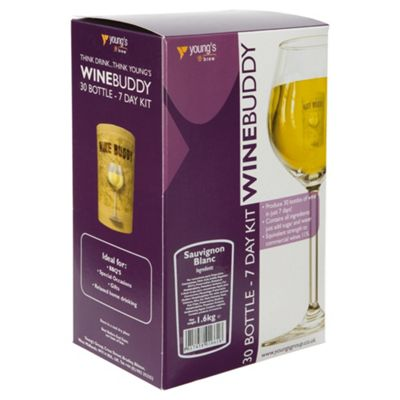 WineBuddy Sauvignon Blanc Kit, 30 bottles