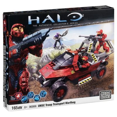 Mega Bloks Halo Magnetic Figures UNSC Spartan-II Set #29672 [Red ...