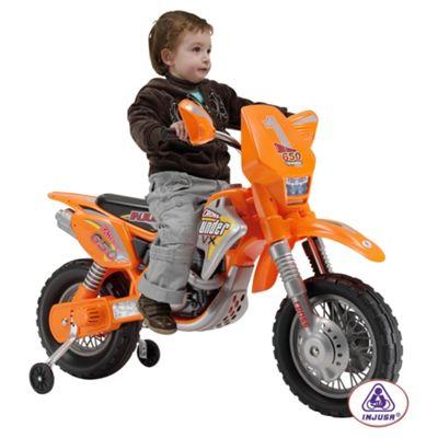 Injusa Moto X Scrambler Motorbike Battery Operated Ride-On