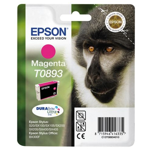 Epson T0893 Printer Ink Cartridge - Magenta