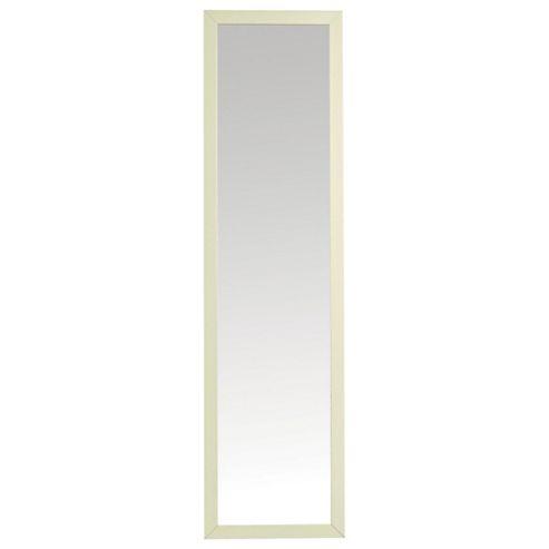 Basic Cheval Mirror - Ivory Effect