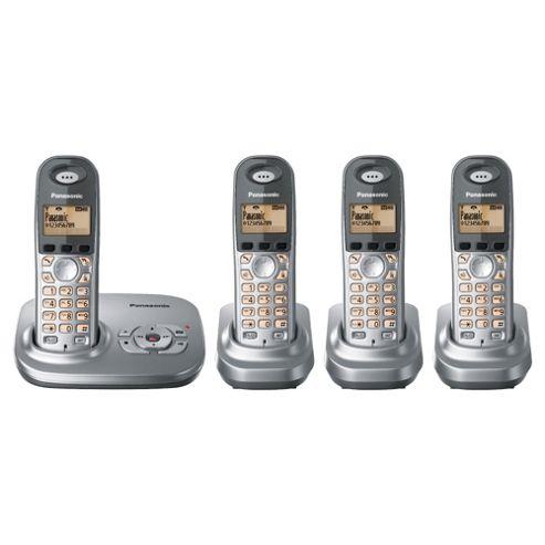 Panasonic KX-TG7324EG Quad Telephone