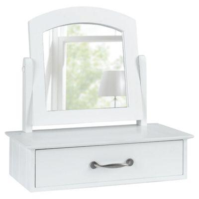 Stockholm Dressing Table Mirror, White