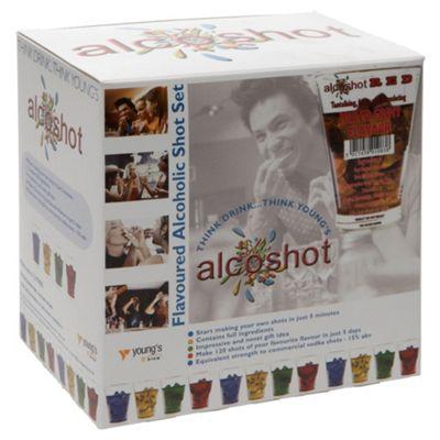 Alcoshot Refill Kit, Mixed Fruit